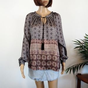 MNG (Mango) Suit Collection Boho Top